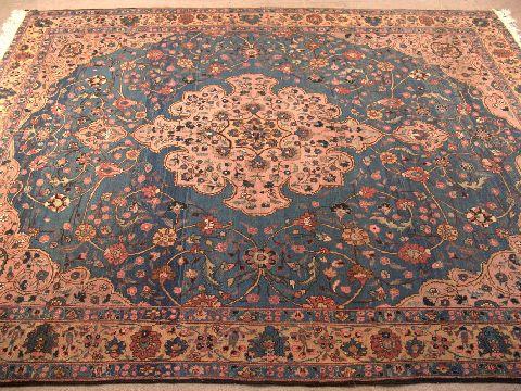 Bgw remate 182 alfombra gek htm gendata for Alfombra persa azul