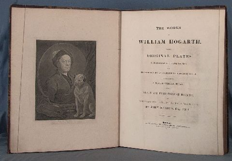 HOGARTH (William). The Works of..., 1822. (42)