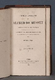 MUSSET (Alfred de). Oeuvres Complétes, 1877. 11 tomos. (59)