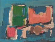 Giannone, abstracto, oleo