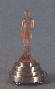 Figura femenina, Art Deco, lámpara