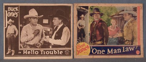 Buck Jones, Lobby Cards