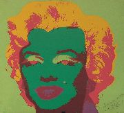 Warhol, Marilyn Monroe, serigrafia firmada por el autor en Studio 54 en 1980, publicado por The Sunday B. Morning