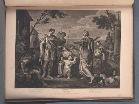 Collection of prints of Shakespeare, publicado por Boydell.