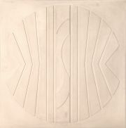 MAC ENTYRE. Relieve blanco I, 1974.