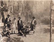Argentine, On the Pampas. A scene on a ranch. Fotografía de 1928.