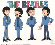 The Beatles, celuloide de animación (Animation Cell), Recreación de los Cartoon Series The Beatles del Saturday Morning,