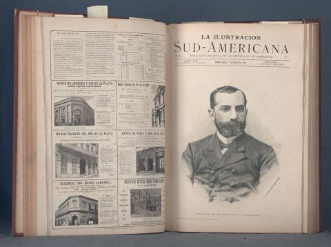 ILUSTRACION SUDAMERICANA. La. Bs. As. 1892 - 1893