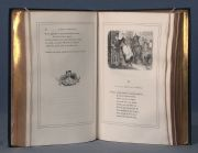LA FONTAINE, Jean de: FABLES ILLUSTRATIONS PAR GRANDVILLE...1 Vol.