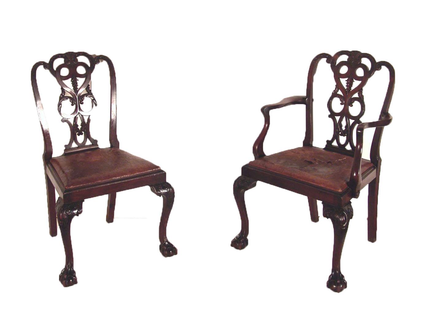 Bgw remate 236 muebles gek htm gendata - Sillas chippendale ...