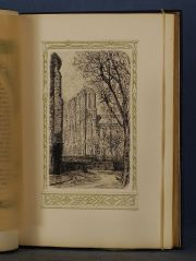 HUYSMANS, J. K. TROIS EGLISES, Edition R. Kiefer, Paris, 1920, Eaux Fortes.