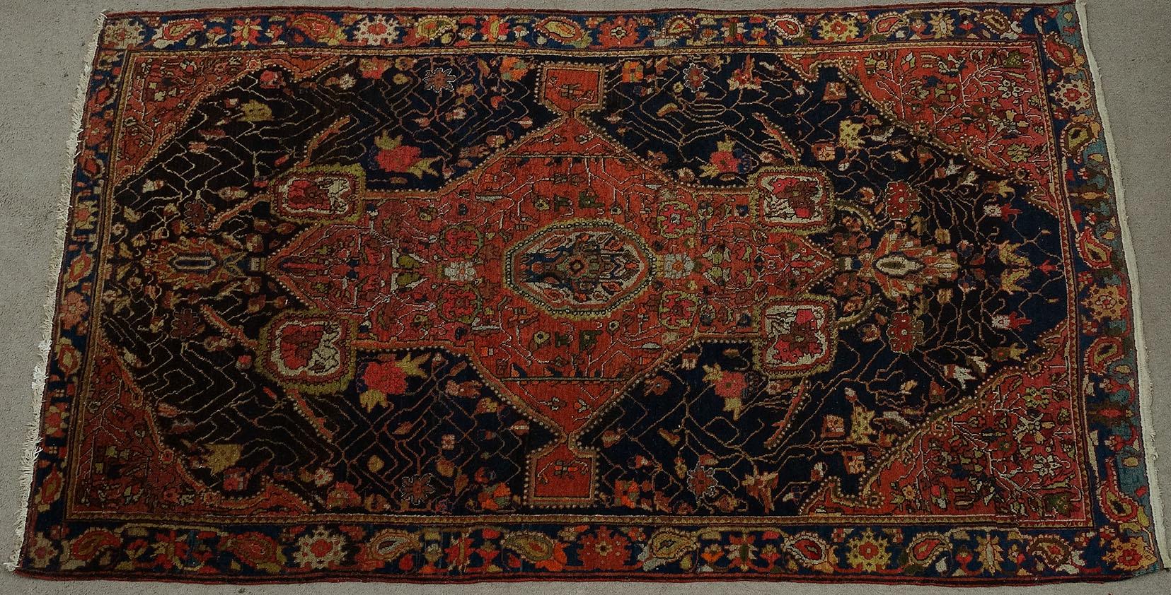 Bgw remate 250 alfombra gek htm gendata for Alfombra persa azul