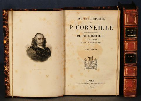 CORNEILLE, P y TH.: OEUVRES COMPLETES et OEUVRES CHOISES. 2 vol