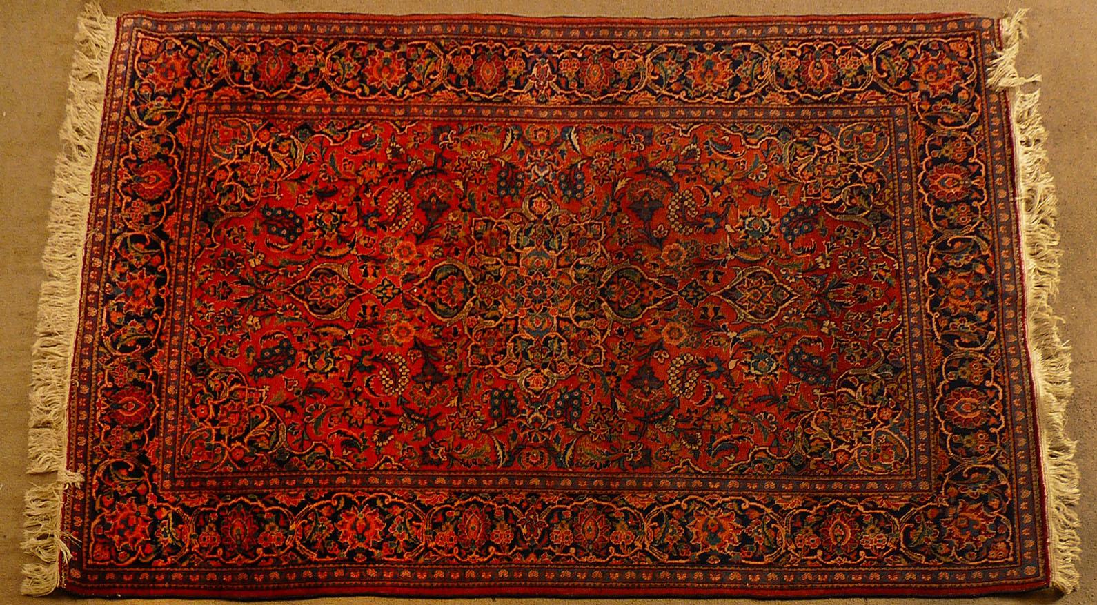 Bgw remate 264 alfombra gek htm gendata for Alfombra persa azul