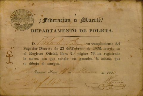 Documento Departamento de Policia.