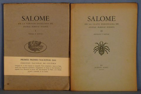 Bargas Nigoul, Salomé, 2 vol